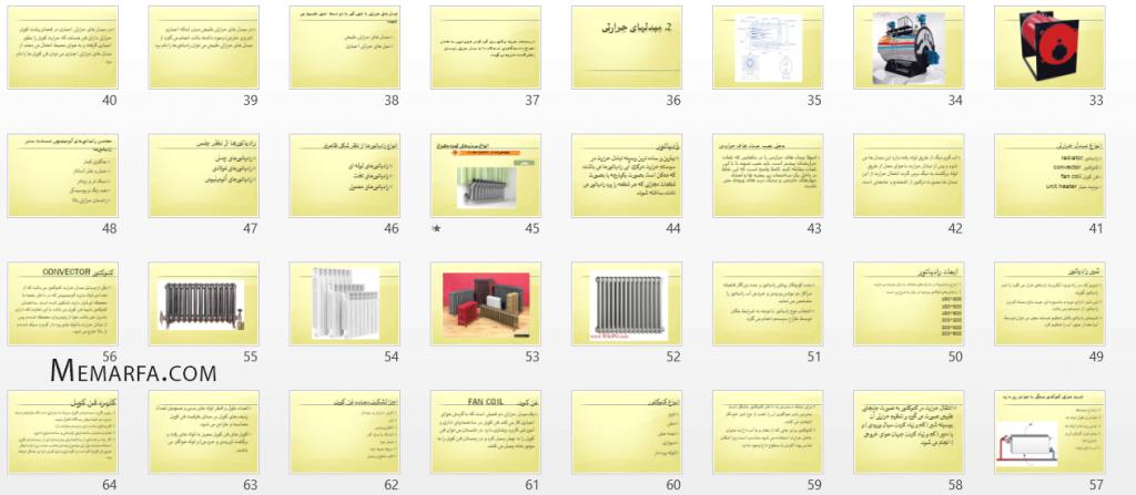 پروژه تاسیسات الکتریکی و مکانیکی ساختمان (۲)