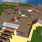 دانلود پروژه دانشکده معماری اتوکد و سه بعدی